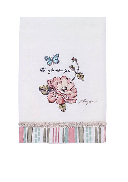Avanti Butterfly Garden Towel