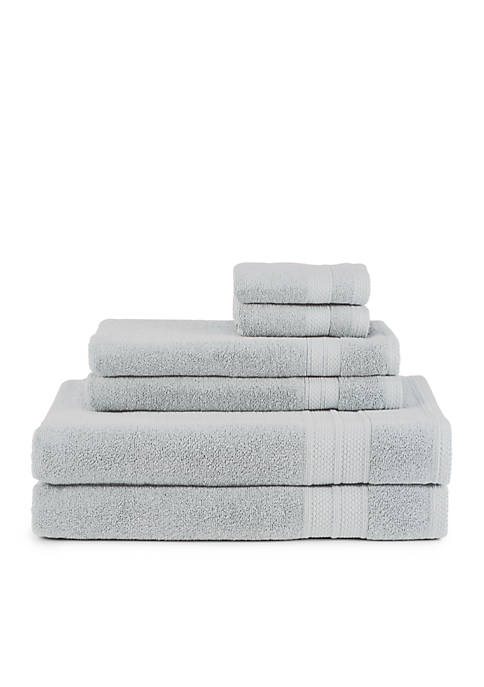 Turkish Spa 6 Piece Towel Set