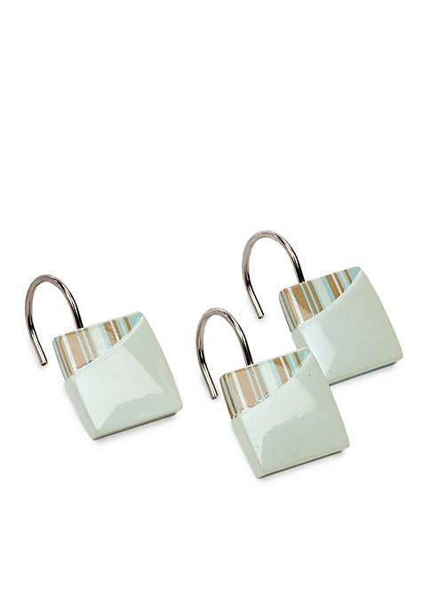 Avanti By the Sea Shower Curtain Hooks