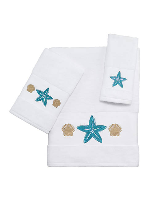 Avanti Blue Cove Bath Towel Collection