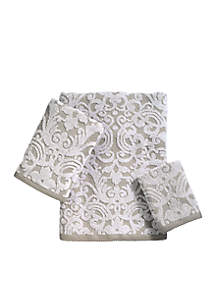 Avanti Damask Solid Towel Collection