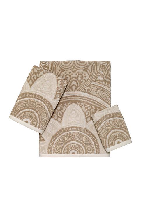 Avanti Sofia Jacquard Towel