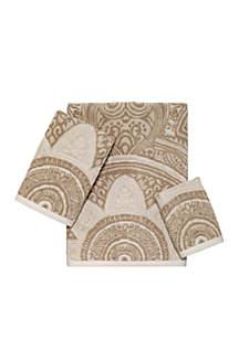 Sofia Jacquard Towel