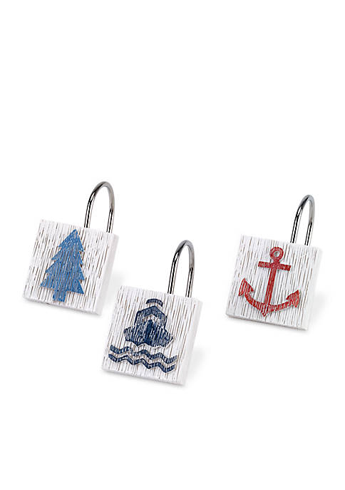 Avanti Lake Words Shower Hooks