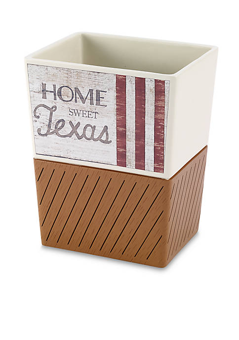 Avanti Home Sweet Texas Wastebasket