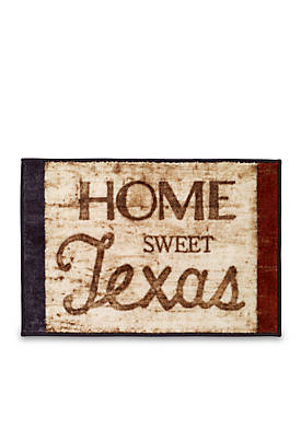 Home Sweet Texas Rug