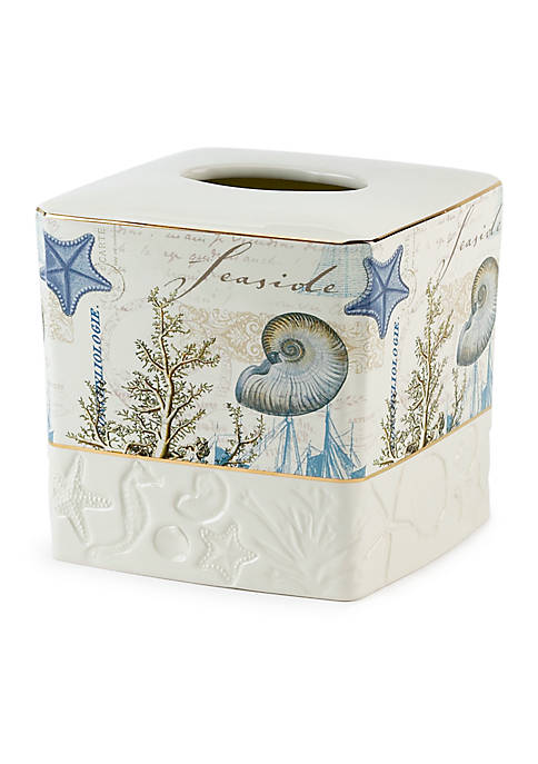 Avanti Antigua Tissue Box Cover