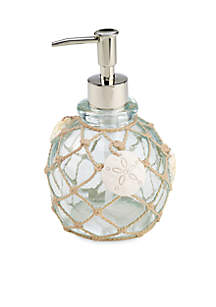 Sea Glass Lotion Dispenser 4.3-in. x 4.3-in. x 6.7-in.