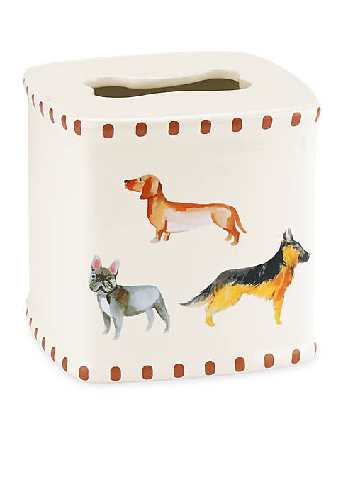 Avanti Dogs On Parade Tissue Cover
