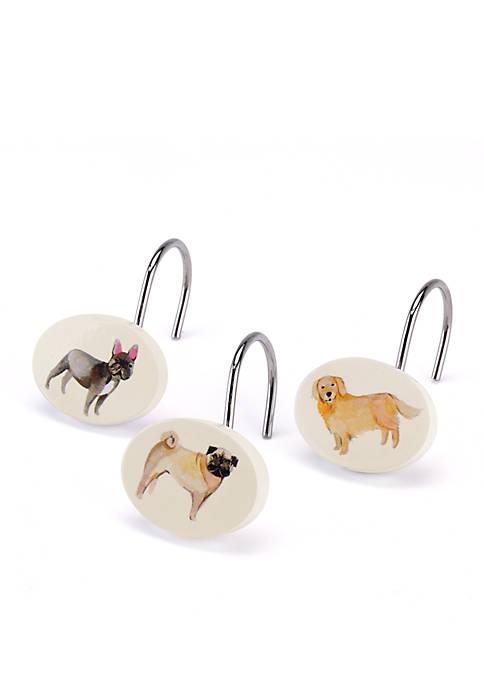 Avanti Dogs On Parade Shower Hooks