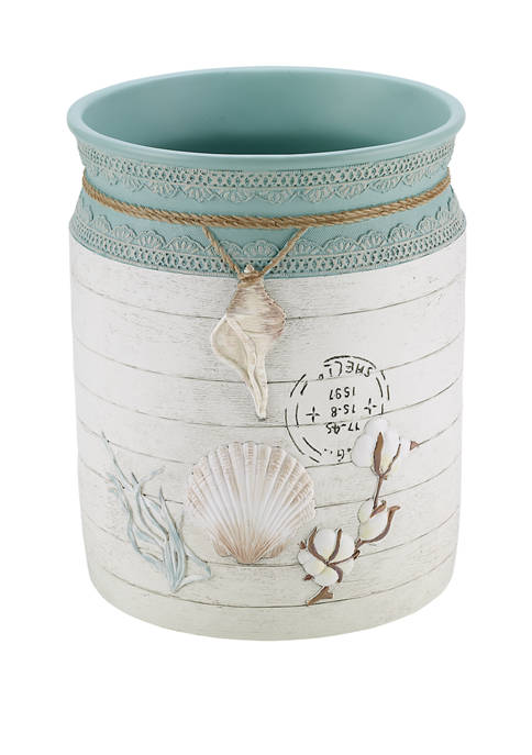 Avanti Farmhouse Shell Wastebasket