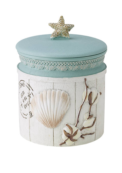 Farmhouse Shell Covered Jar