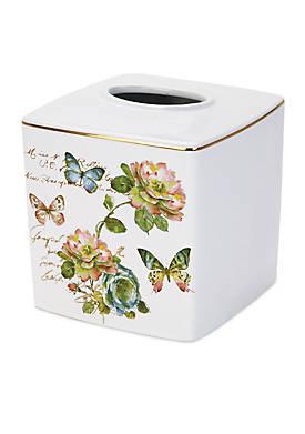Butterfly Garden Tissue Cover