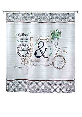 Avanti Modern Farmhouse Shower Curtain