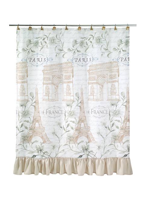72 in x 72 in Paris Botanique Shower Curtain