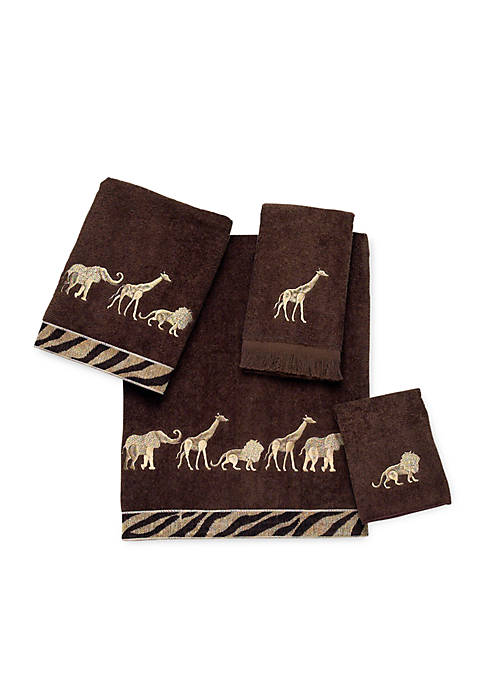 Avanti Animal Parade Bath Towel 27-in. x 50-in.