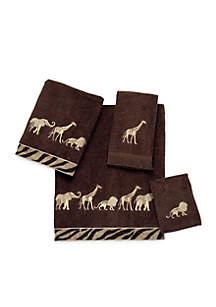 Avanti Animal Parade Bath Towel 27-in. x 50-in.