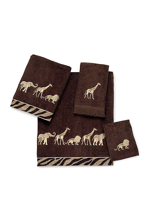 Avanti Animal Parade Washcloth 13-in. x 13-in.