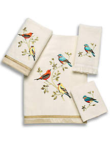 Gilded Bird Towel Collection