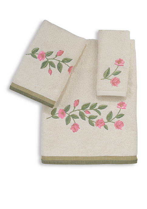 Avanti Melony Ivory Hand Towel 16-in. x 30-in.