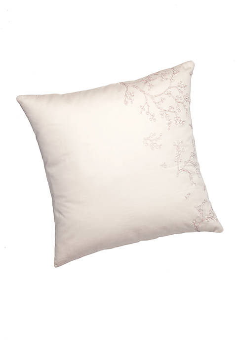 Barbara Barry Night Blossom Wisteria Euro Sham 26-in.