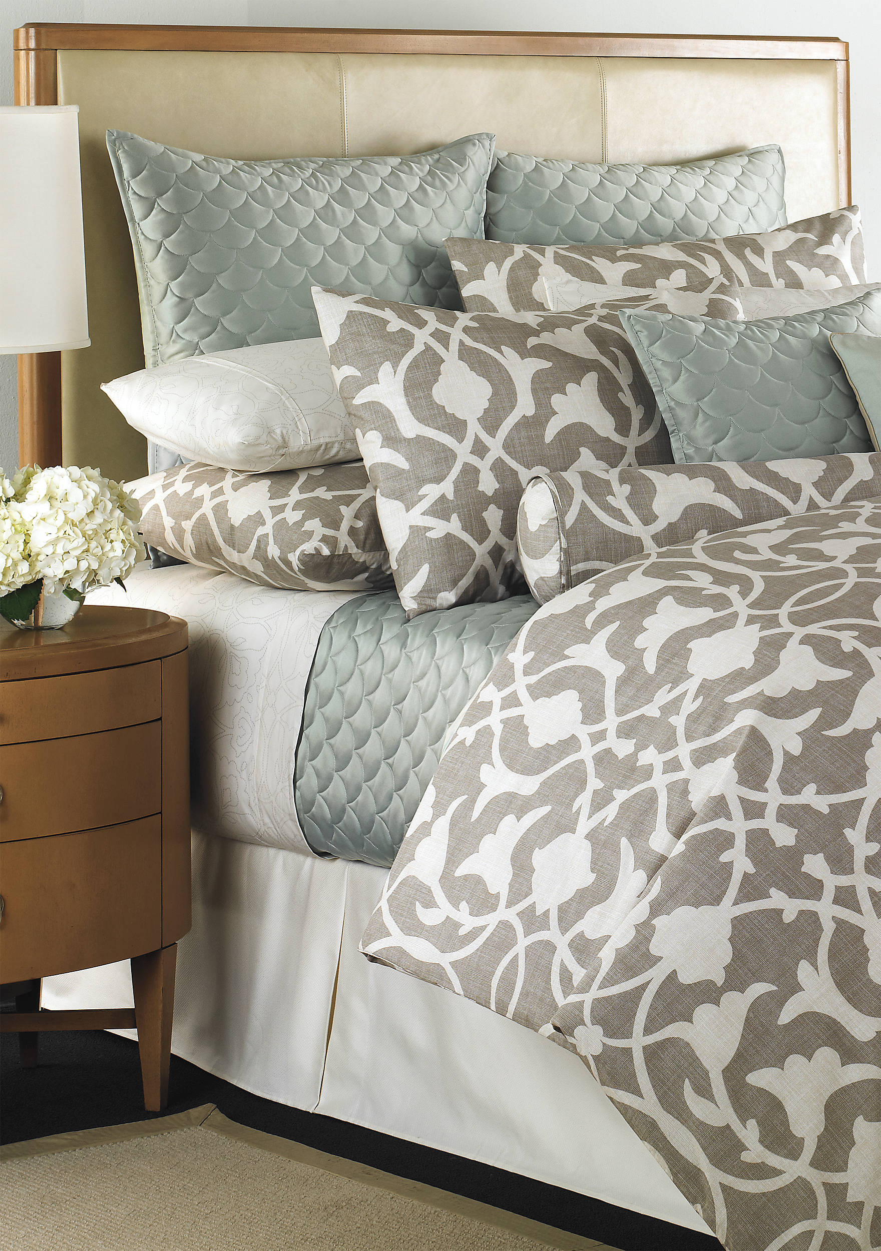 white p bedding comforter barbara barry to king set bed expand rose save sutton baltimore click piece in of