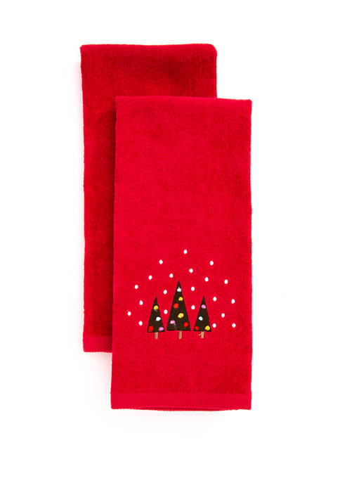 Bath Solutions Tree Trio Cotton Towel