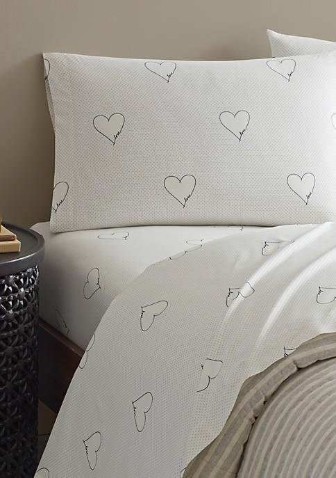Ellen DeGeneres Love Hearts Pillowcase