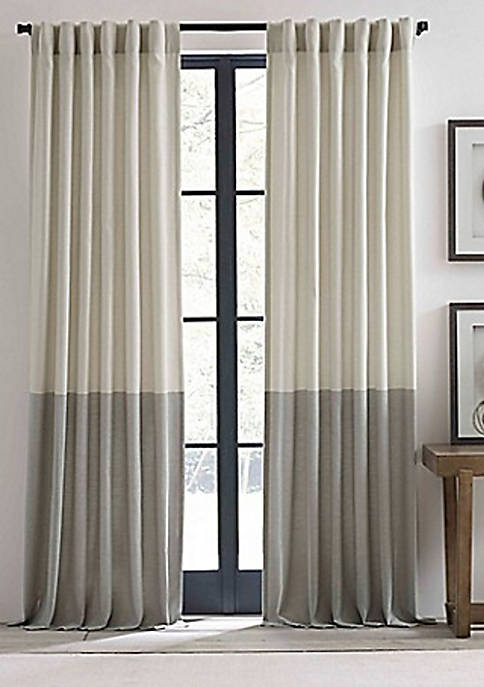 Ellen DeGeneres Shadow Panel Pole Top Drape Pair