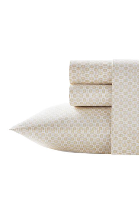 Batik Squares Sheet Set