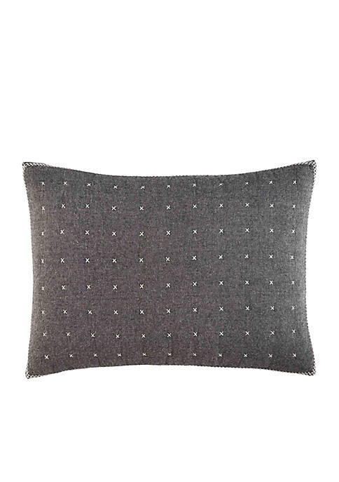 Ellen DeGeneres Greystone Gray Breakfast Pillow
