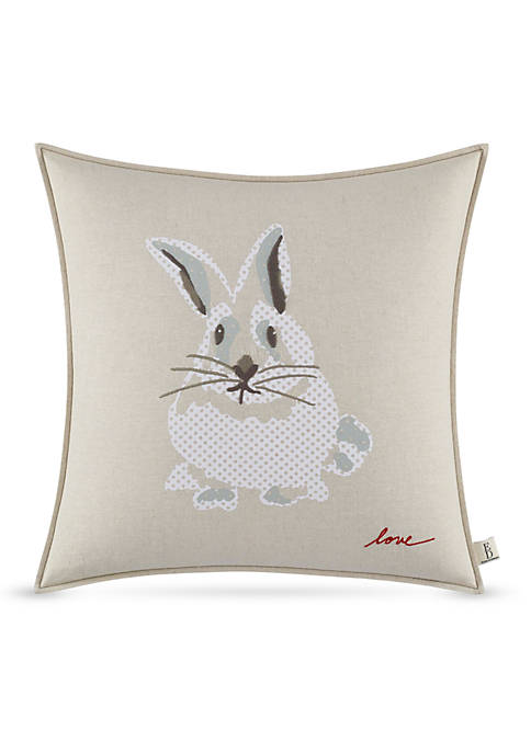 Ellen DeGeneres Bunny Throw Pillow