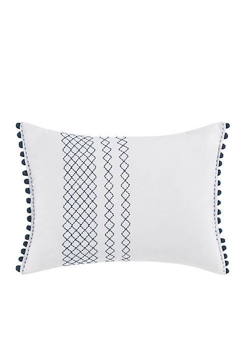 Ellen DeGeneres Hanako White Breakfast Pillow