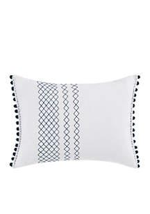 Hanako White Breakfast Pillow