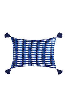 Samba De Roda Allover Triangle Throw Pillow