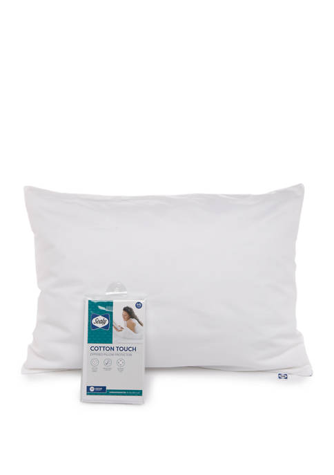 Cotton Touch Zippered Pillow Protector