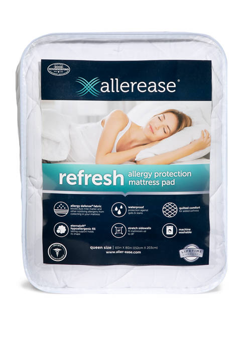 AllerEase® Refresh Allergy Protection Mattress Pad