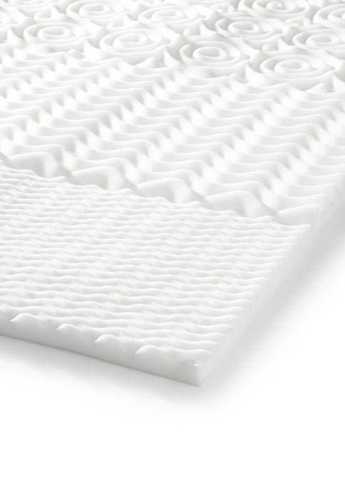 Carpenter Peaceful Dreams 5-Zone Foam Mattress Pad