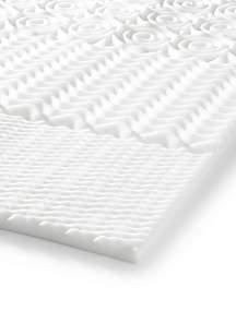 Peaceful Dreams 5-Zone Foam Mattress Topper