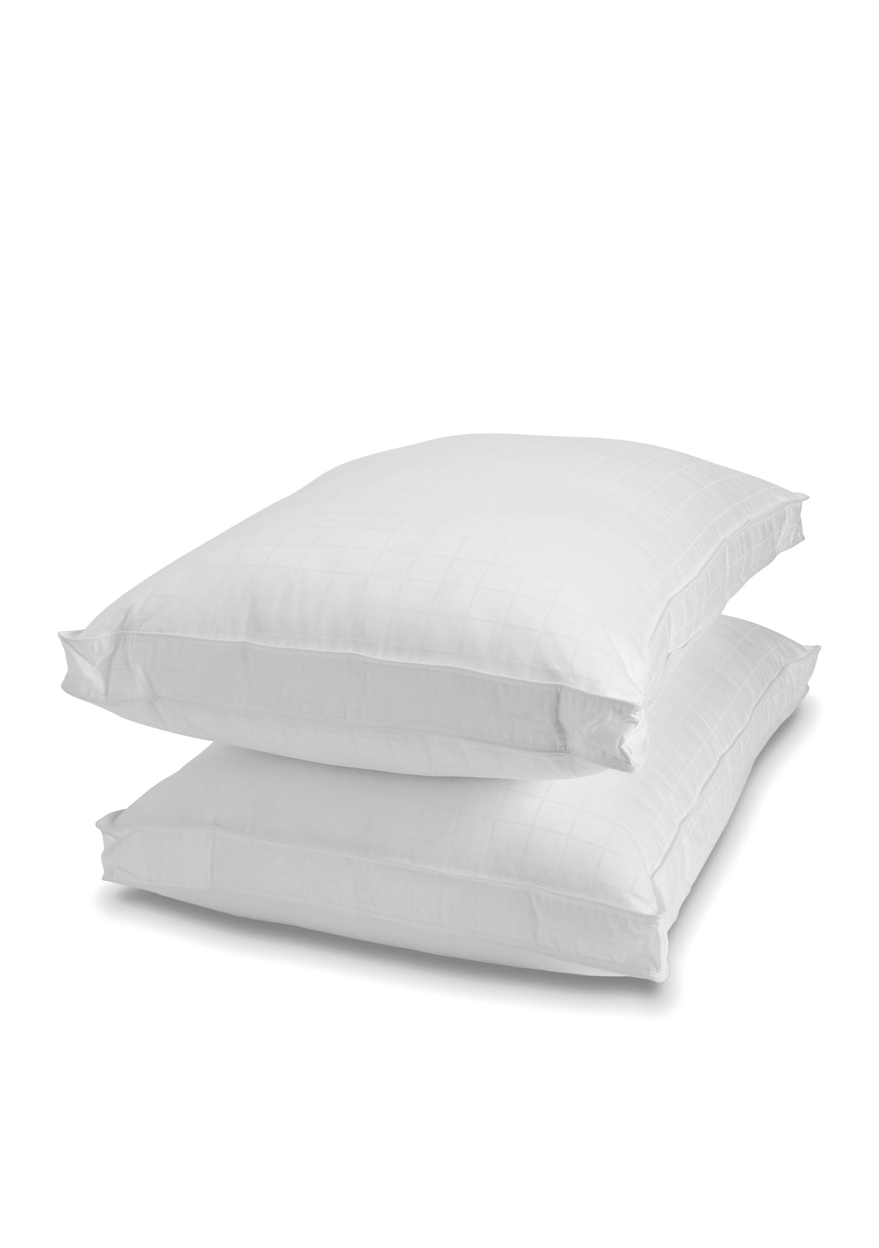 itm bed collection plush pack hypoallergenic hotel down pillow pillows alternative white