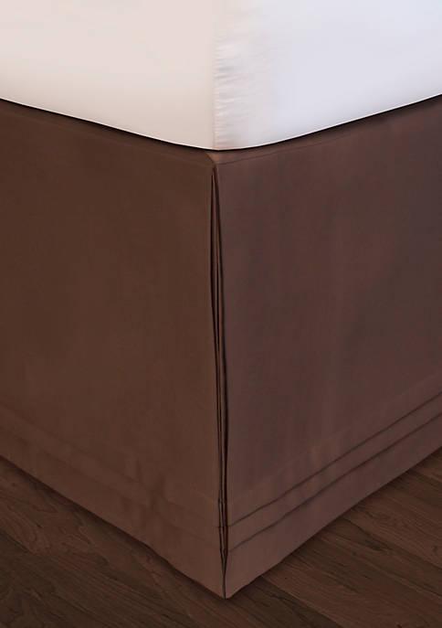 HUYS Adjustable Matte Satin Queen Bedskirt