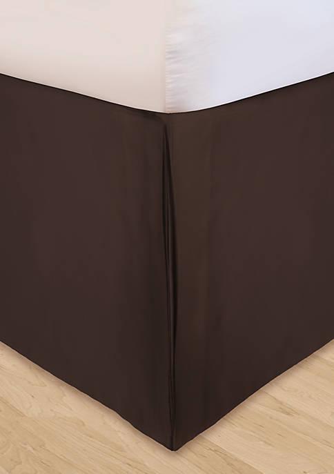 HUYS Adjustable Soild Microfiber Bedskirt California King
