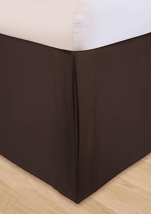 HUYS Adjustable Soild Microfiber  Bedskirt Queen