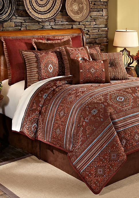 Pueblo California King Comforter Set 110-in. x 96-in.