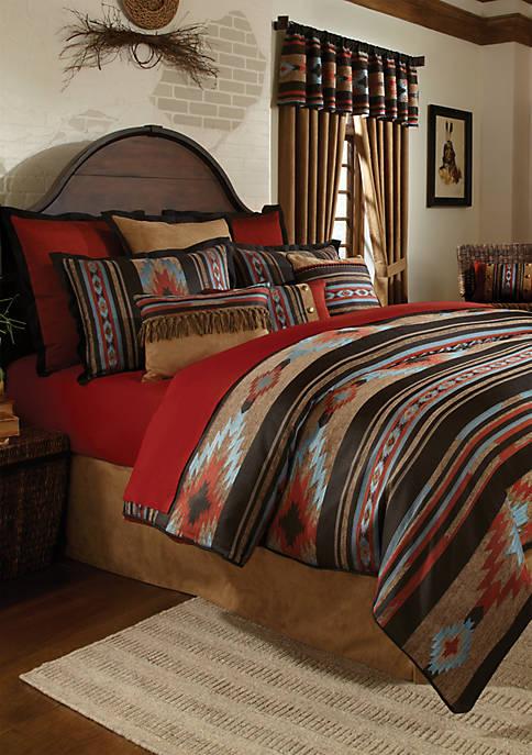 Santa Fe Queen Set Comforter 94-in. x 96-in.