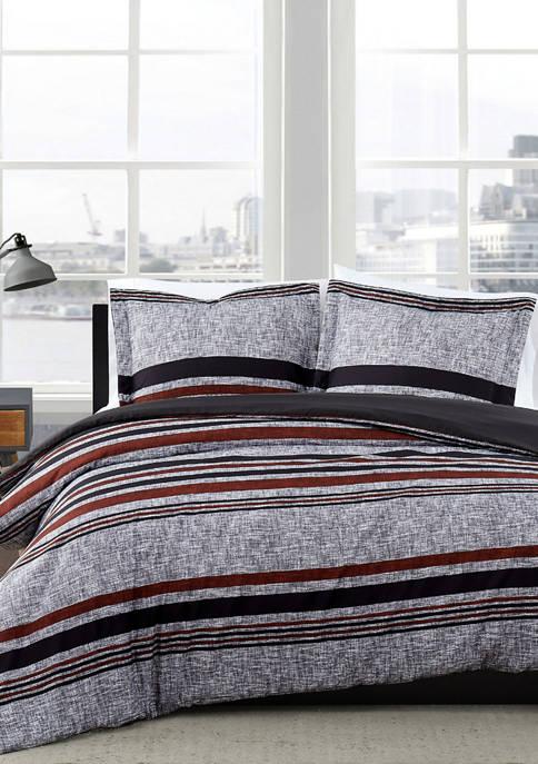Warren Stripe Comforter Set