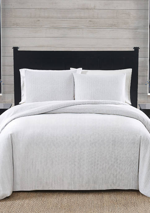 American Traditions™ Herringbone Flannel Comforter Set