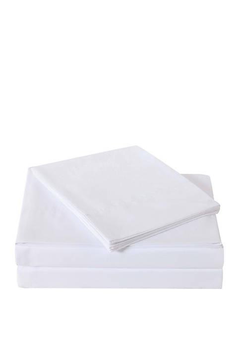 Oceanfront Resort White Sheet Set