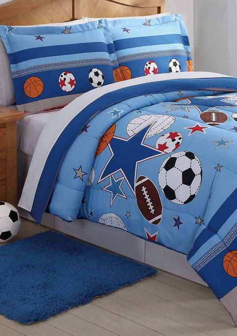 My World® Sports and Stars Comforter Set