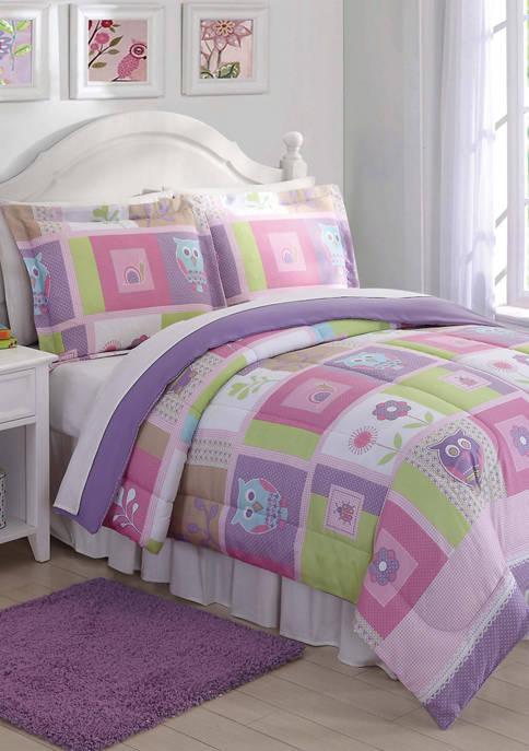 My World® Happy Owls Comforter Set